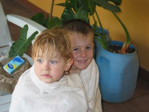 Une serviette pour deux