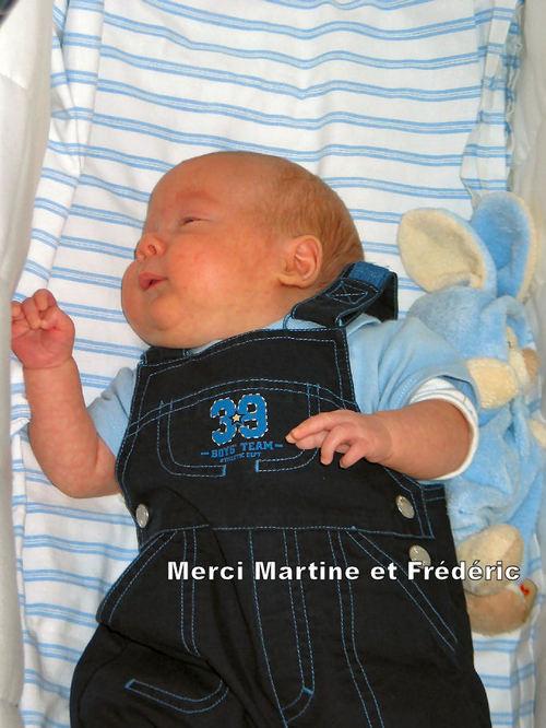 Merci Martine et Frédéric