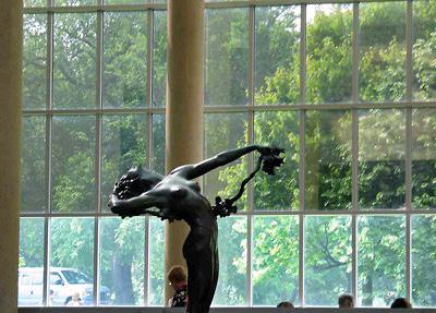 Metropolitan Museum patio