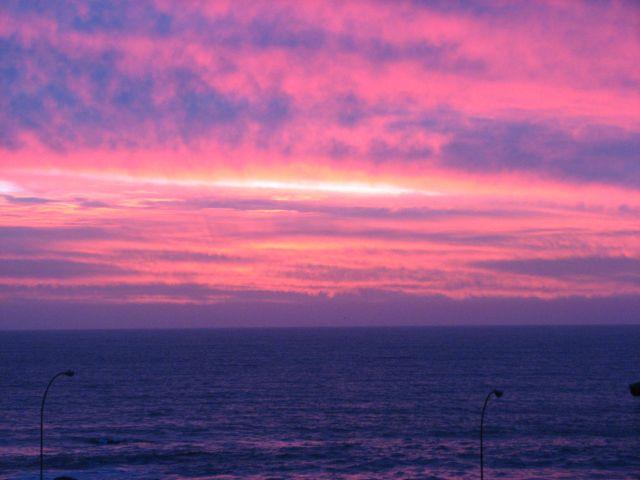 Coucher de soleil sur le Pacifique (c) SB