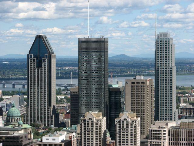 Montreal depuis le Mont Royal (c) SB