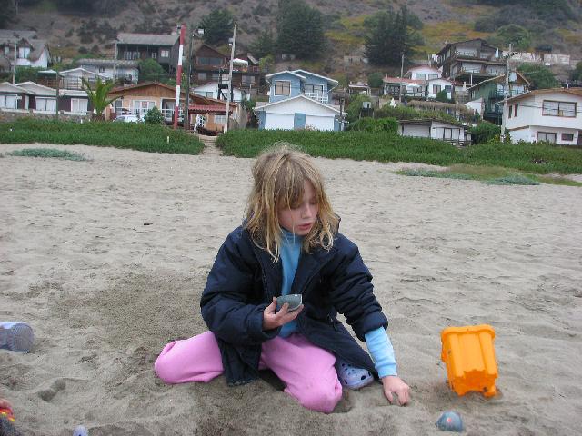 Sur la plage (c) SB