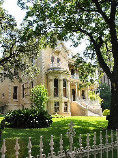 Austin, maison historique du centre (c) SB
